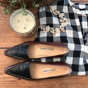 Brown and Black Loafers